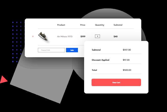 WooCommerce Widget: Cart widget