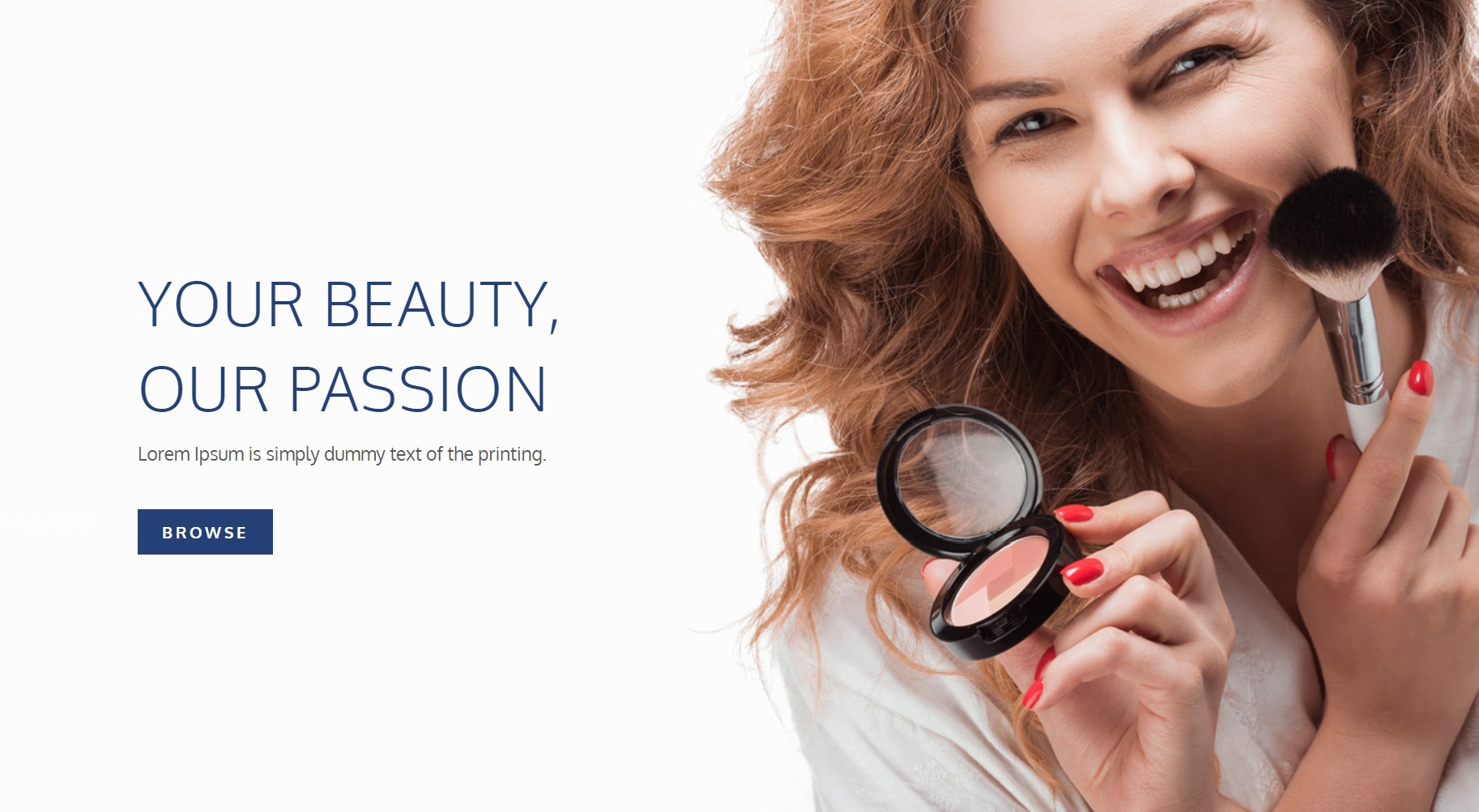 cosmetic product template