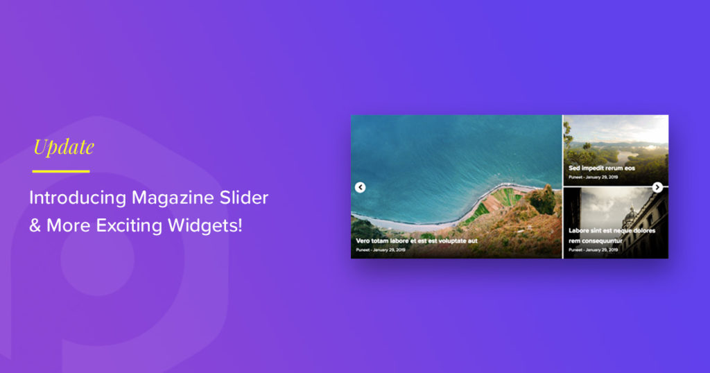 Content Ticker Elementor Widget