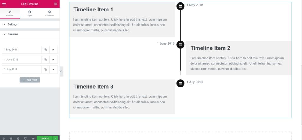 elementor-timeline-demo