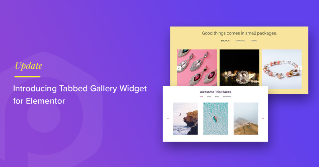 Tabbed Gallery Widget