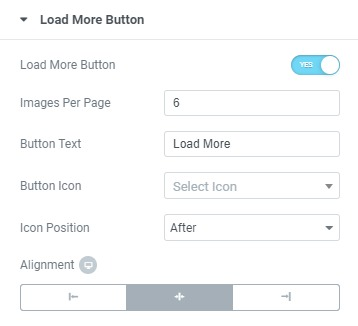 load more options
