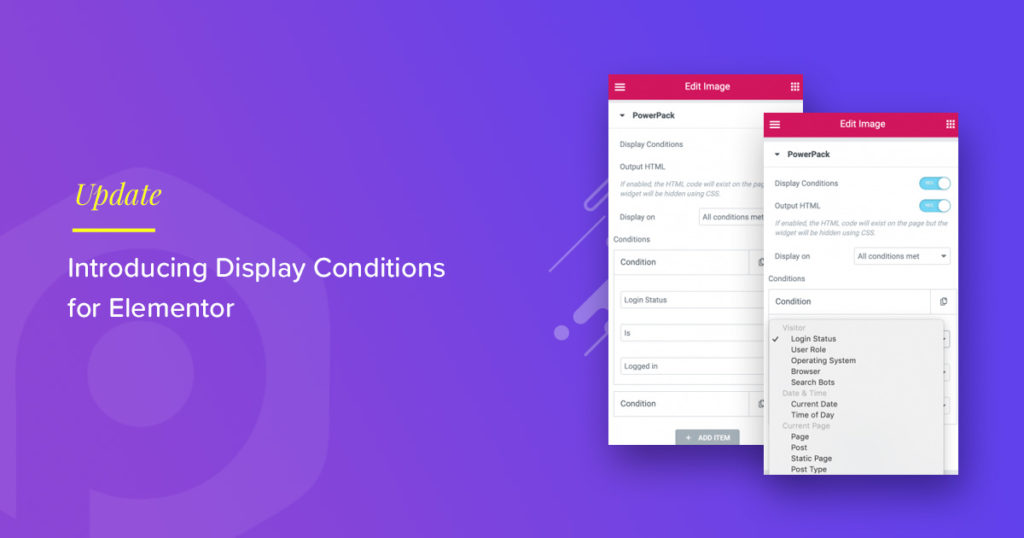 Display Conditions