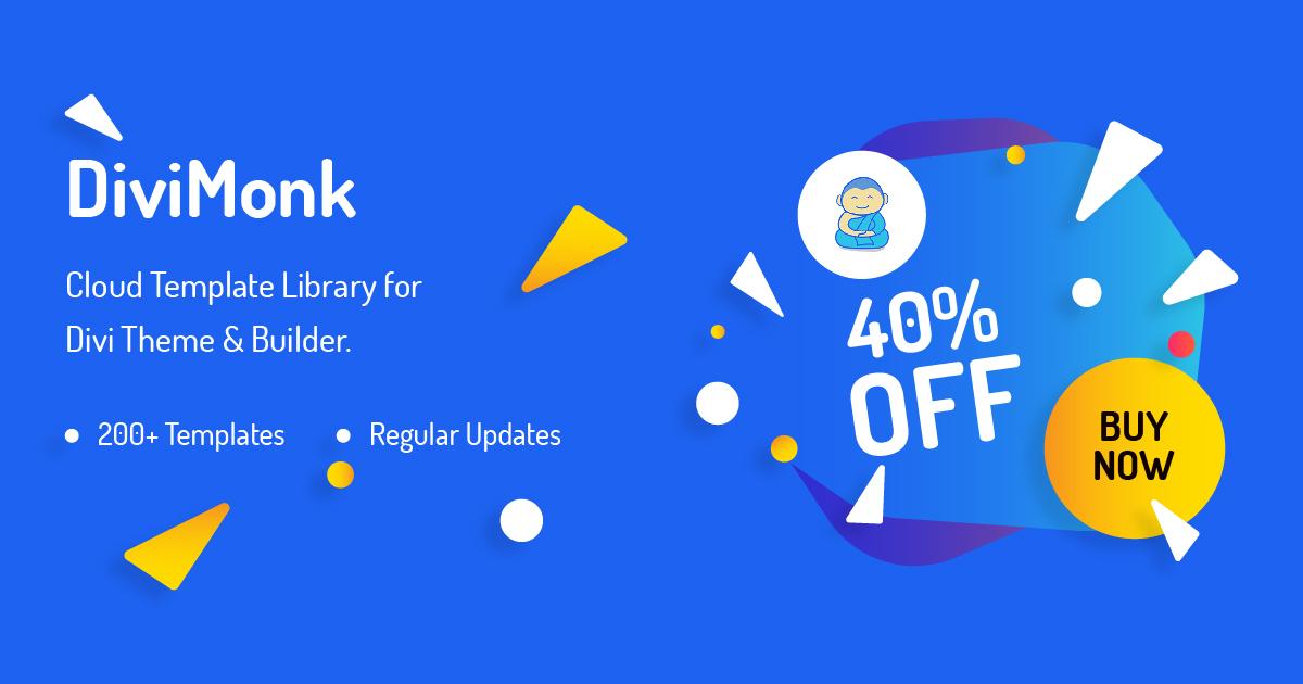 DiviMonk black friday WordPress deal 2019