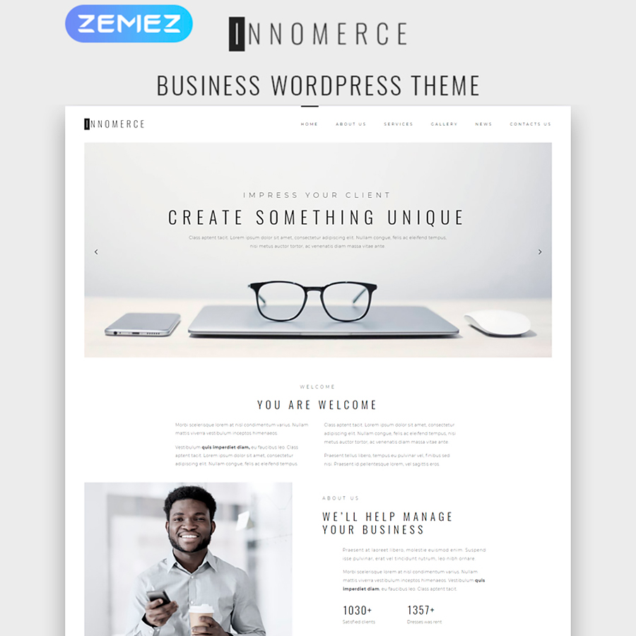 Innomerce – Business Multipurpose Minimal Elementor WordPress Theme