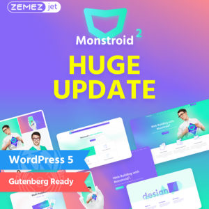 Monstroid2 – Multipurpose Modular Elementor WordPress Theme