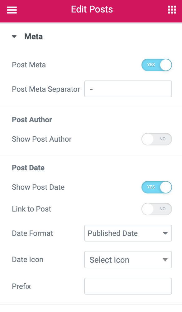 Elementor Post Widget: Styling Options