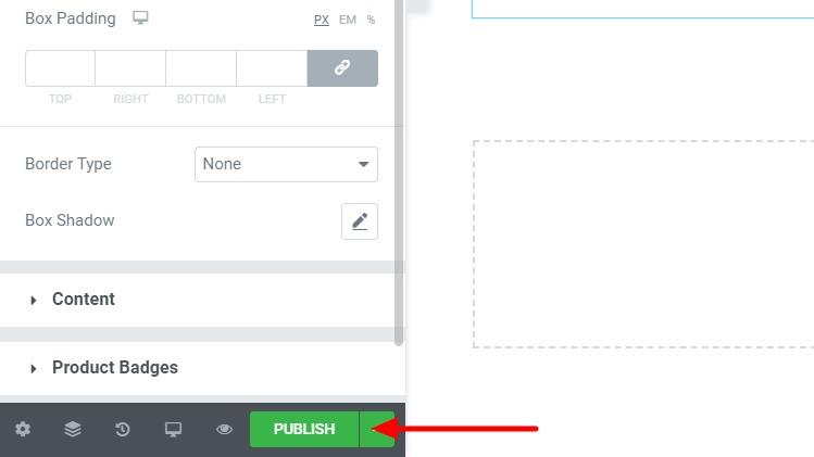WooCommerce Elementor Guide Shop publish