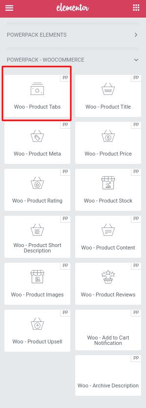 Woo - Product Tabs