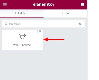 WooCommerce editing with Elementor
