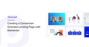 how to create a landing page with elementor