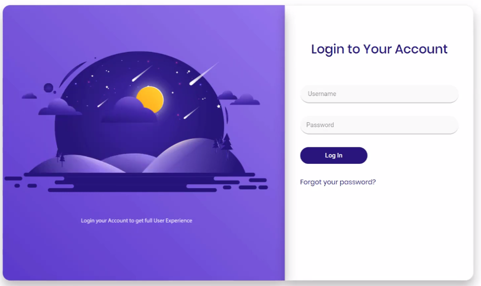 custom login page elementor