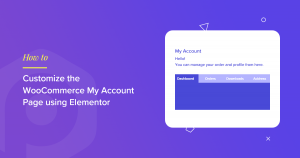 WooCommerce My Account Page
